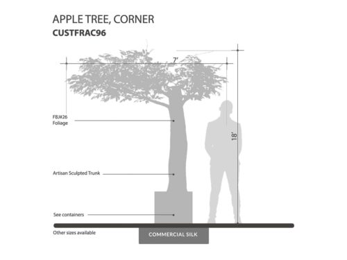 Apple Tree, Corner ID# CUSTFRAC96
