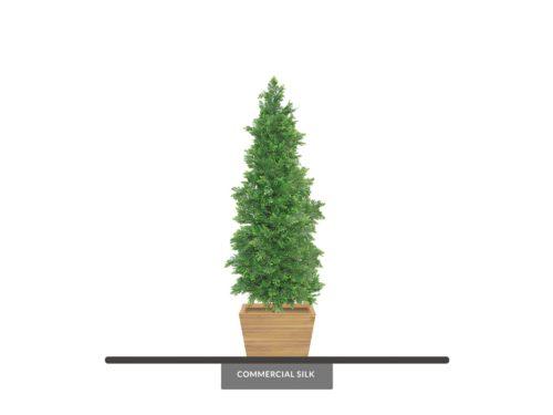 Outdoor Cedar Cypress Topiary ID# CEDC60+