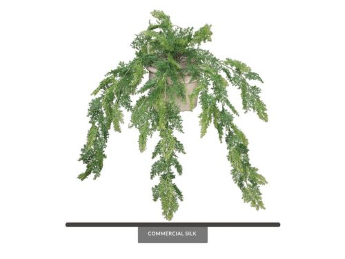 Artificial Asparagus Fern Indoor Plant ID# FEA224