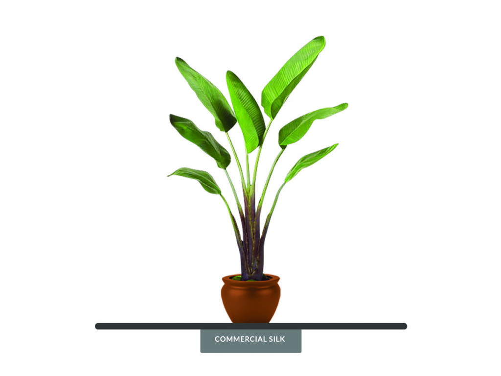 Faux Bird of Paradise Plant ID# PRG-975LTLS