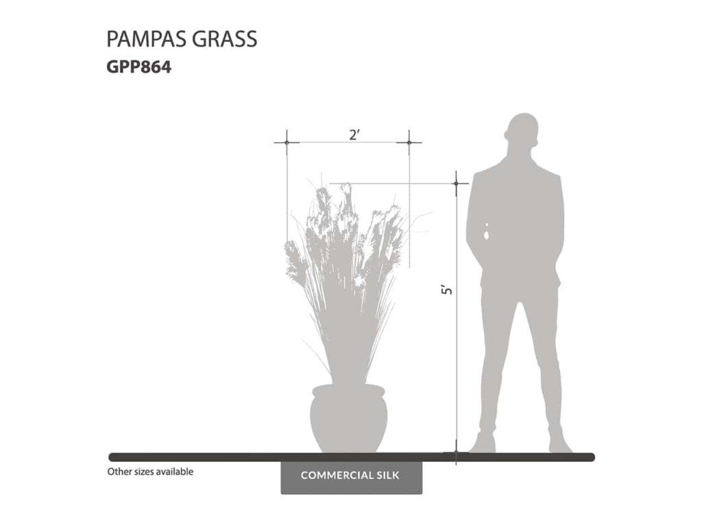 Faux Pampas Grass ID# GPP864