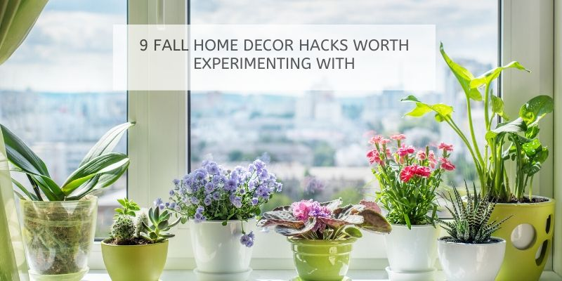 Artificial Plants for fall decor