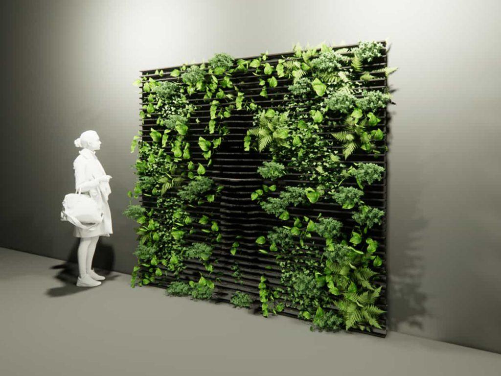 BIO-GWW-SF96 | Green Wave Wall