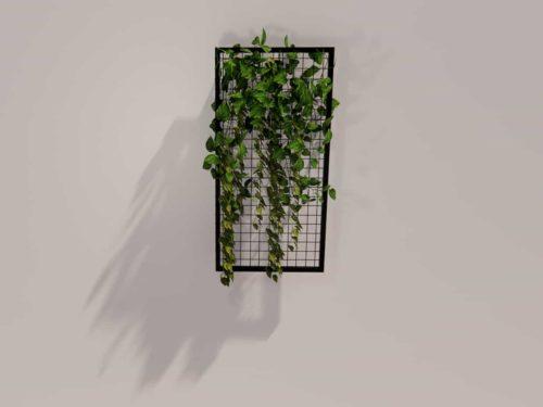 BIO-PSR-SP48 | Hanging Plant Screen